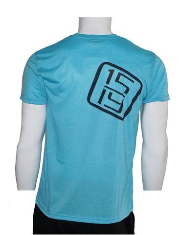 Bild von T-Shirt neon blau
